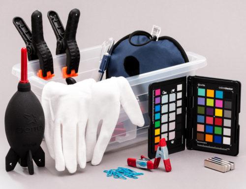 Praktische Helfer für die Messerfotografie