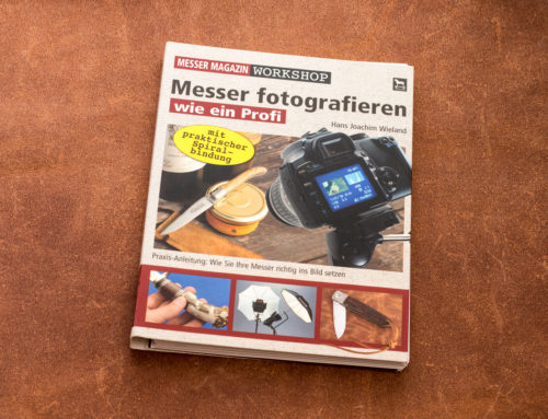 Hans Joachim Wieland: Messer fotografieren wie ein Profi
