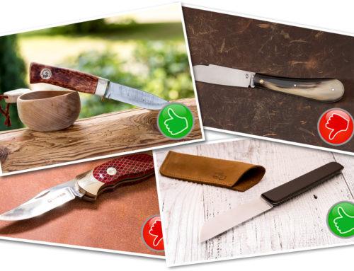 Die acht häufigsten Fehler beim Fotografieren von Messern – und wie man sie vermeidet