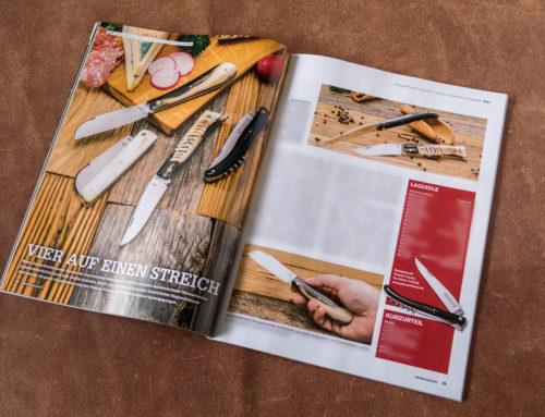 """Blick hinter die Kulissen: Die Konzeption eines Fotoshootings für die Zeitschrift """"Messer Magazin"""""""