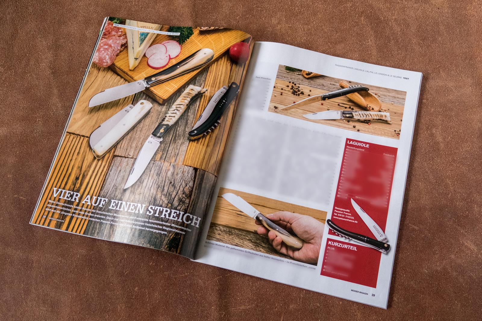 Messer Magazin 4/2017, S. 38/39