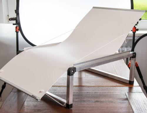 Nützlicher Aufnahmetisch mit Hohlkehle: Novoflex MagicStudio