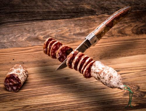 Messer schweben lassen